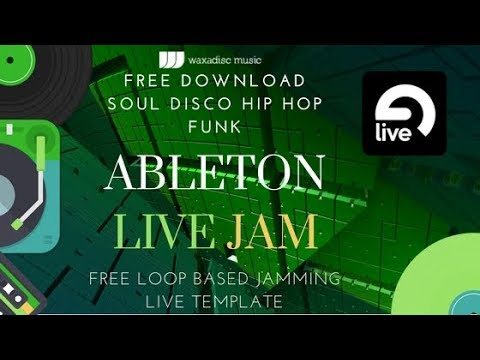 Free Ableton Disco Funk Soul Live Jamming Template