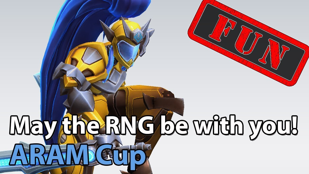 ► ARAM Cup - May the RNG be with you! - Heroes of the Storm Brawl