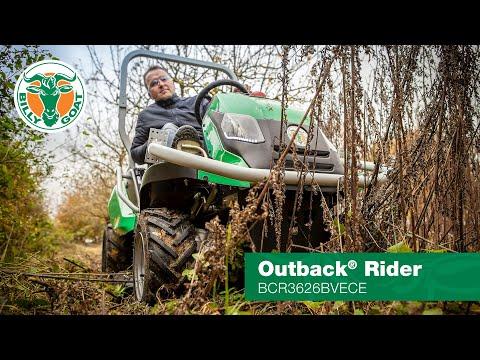 Video Sečení vysoké trávy - MULČER Billy Goat Outback 4WD