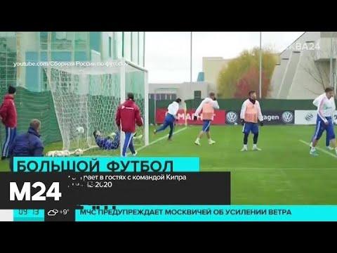 Сборная России сыграет с командой Кипра отборочный матч на ЧЕ-2020 - Москва 24
