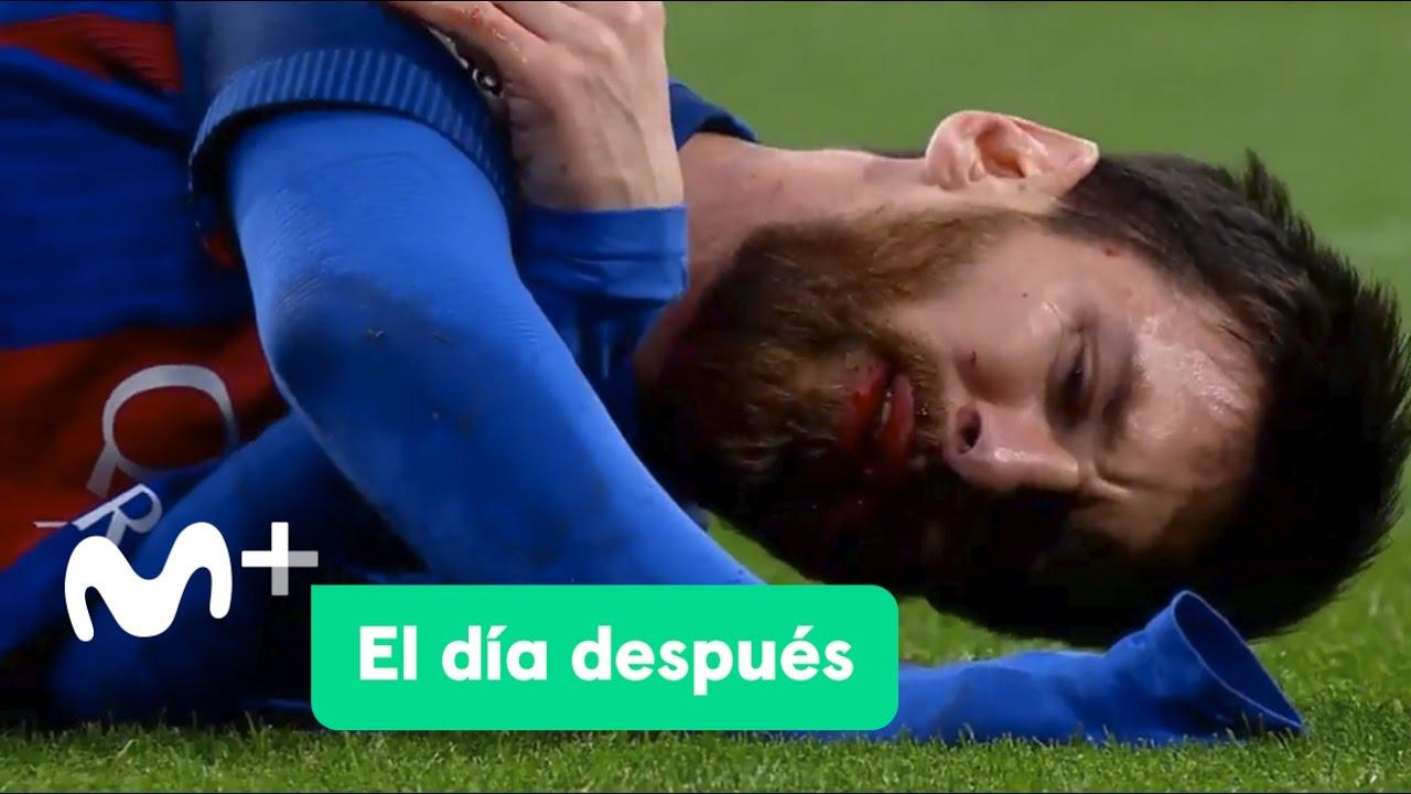 Hizo lo que quiso! La genial jugada de Messi para sacarse a tres ...