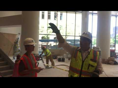 7/17/17: Target Center Renovation - New Entryway