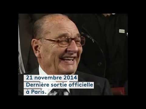 Les dernières apparitions publiques de Jacques Chirac