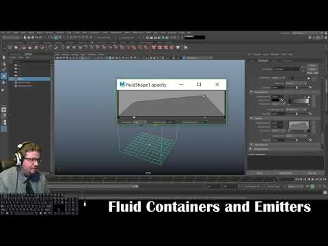 Autodesk Maya 2019: Fluid Containers And Emitters