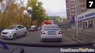 13 Scariest Things Caught on Dashcams