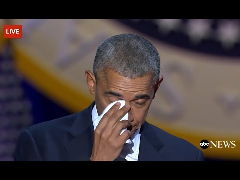 Thumbnail: Obama Cries While Talking About Michelle Obama
