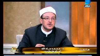 العاشرة مساء  شاهد اتهام الشيخ محمد جاد الله لمحمد عبدالله نصر بتشتيت المسلمين