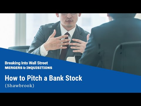 How to Pitch a Bank Stock (Shawbrook)