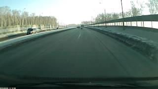 Мост призрак в Новосибирске