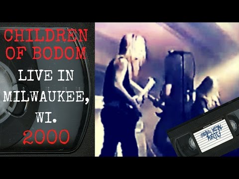 Children Of Bodom Live in Milwaukee WI July 29 2000 Full Show