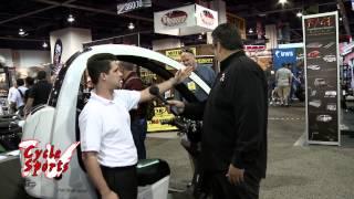 THE AUTO MOTO 3 wheel scooter at SEMA show