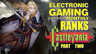 Electronic Gaming Monthly Ranks the Castlevania Series (Part 2) - Defunct Games