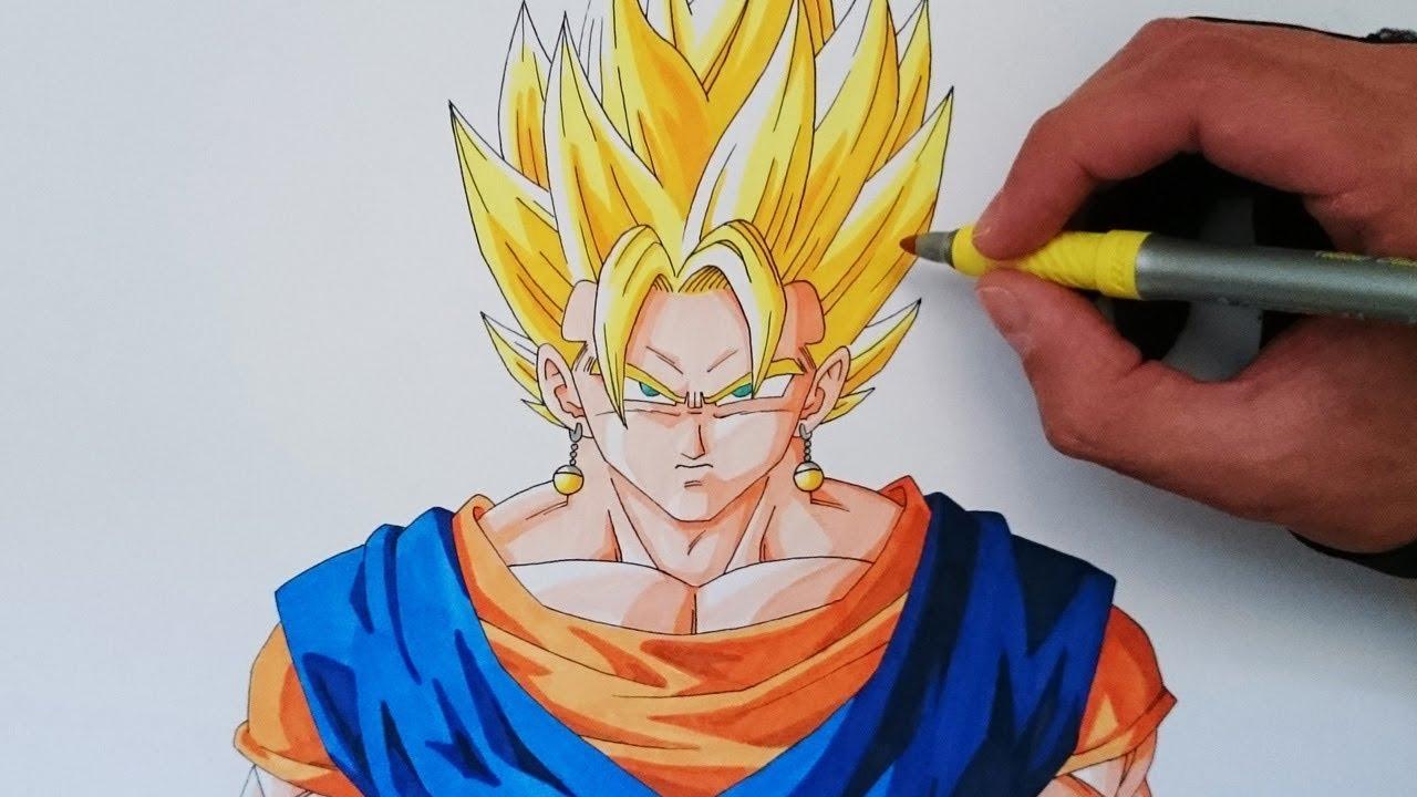 Imagenes De Gogeta Y Vegito Para Dibujar: Cómo Dibujar A Vegetto SSJ Explicado Paso A Paso