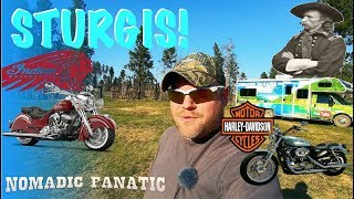 Sturgis! Classic Bikes & Custer National Forest