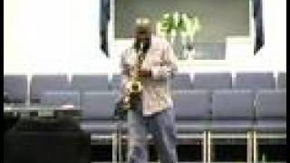 Gospel Saxophonist - Stand