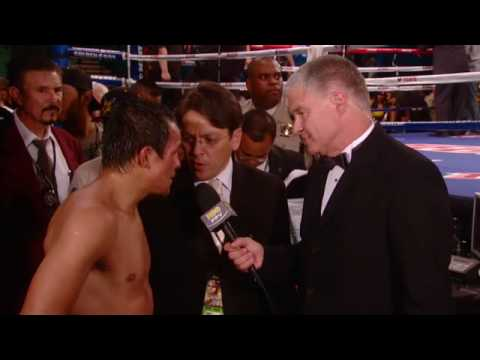 HBO Boxing: Mayweather vs. Marquez - Marquez Post Fight Interview (HBO)