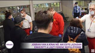 Jobban van a kínai nő, akit este lázasan érkezett a Liszt Ferenc repülőtérre