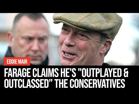 """Nigel Farage Claims He's """"outplayed And Outclassed The Conservative Party"""""""