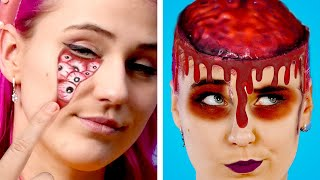 FUN & SPOOKY Halloween DIY Costume Ideas and Crazy Ways to SNEAK CANDIES INTO A HALLOWEEN PARTY