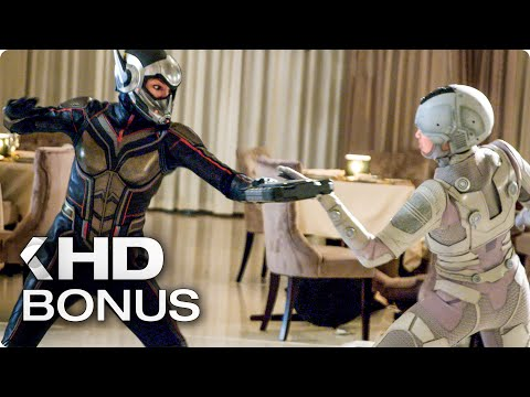 ANT-MAN AND THE WASP All Bonus Features,...