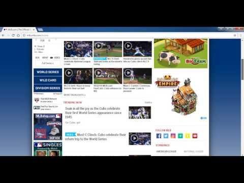 MLB Baseball League Live Stream Online