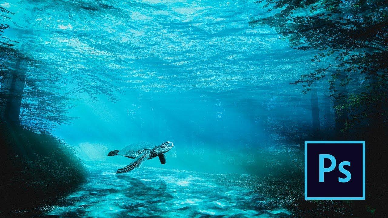 Underwater Life - Photoshop Photo Manipulation Tutorial