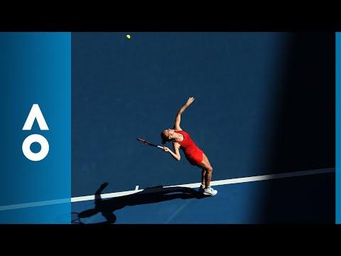 Simona Halep v Destanee Aiava match highlights (1R) | Australian Open 2018