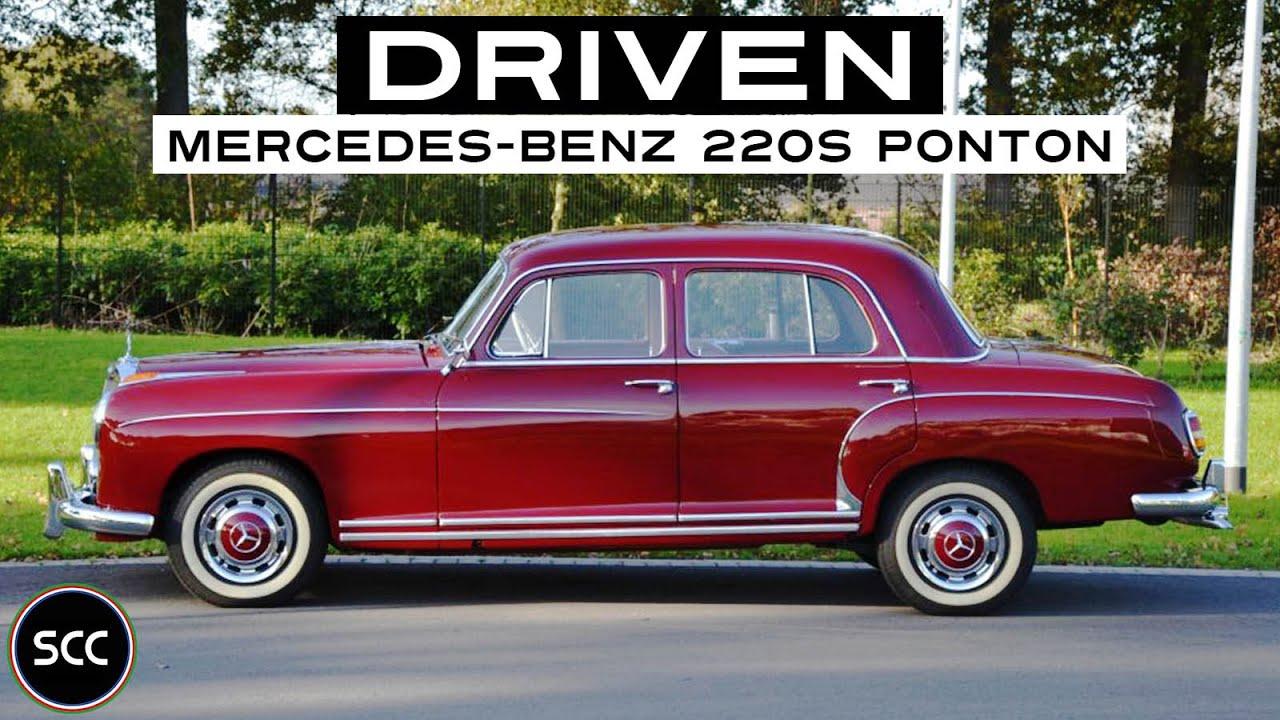 mercedes benz w180 220 s ponton 1959 full test drive in. Black Bedroom Furniture Sets. Home Design Ideas
