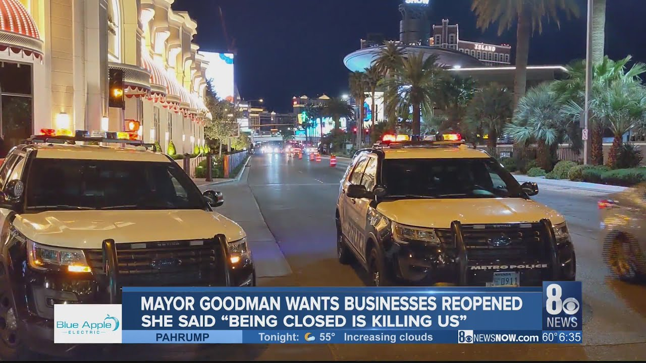 Las Vegas following state directives despite Mayor Carolyn ...