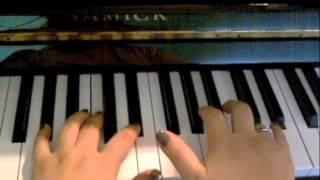 Romeo Santos ft Usher-Promise PIANO TUTORIAL