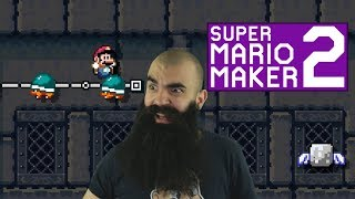 Mario Maker 2: No Skip Endless Super Expert Challenge #10 - The Hardest Trick in the Game..