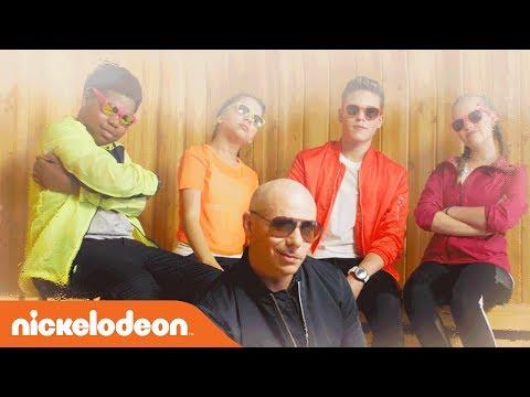 Pitbull's 'Green Slime' Music Video 🎶 (ft. Lizzy Greene, Simone Biles & MORE!) | KCS 2017 | Nick