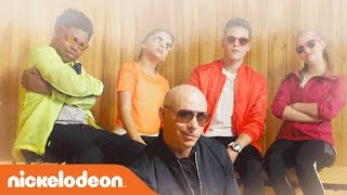 Pitbull's 'Green Slime' Music Video