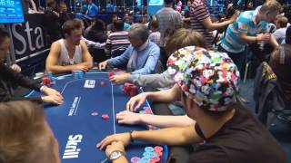 European Poker Tour 10 Grand Final - Main Event - Episode 2 | PokerStars(On Day 3, the money is fast approaching and the competition is fierce, with the big stacks applying pressure as they chase a slice of the €6.5M prize-pool!, 2015-01-15T09:27:17.000Z)