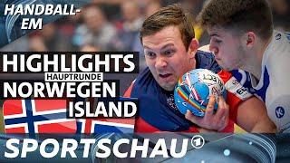 Highlights: Norwegen gegen Island | Handball-EM | Sportschau