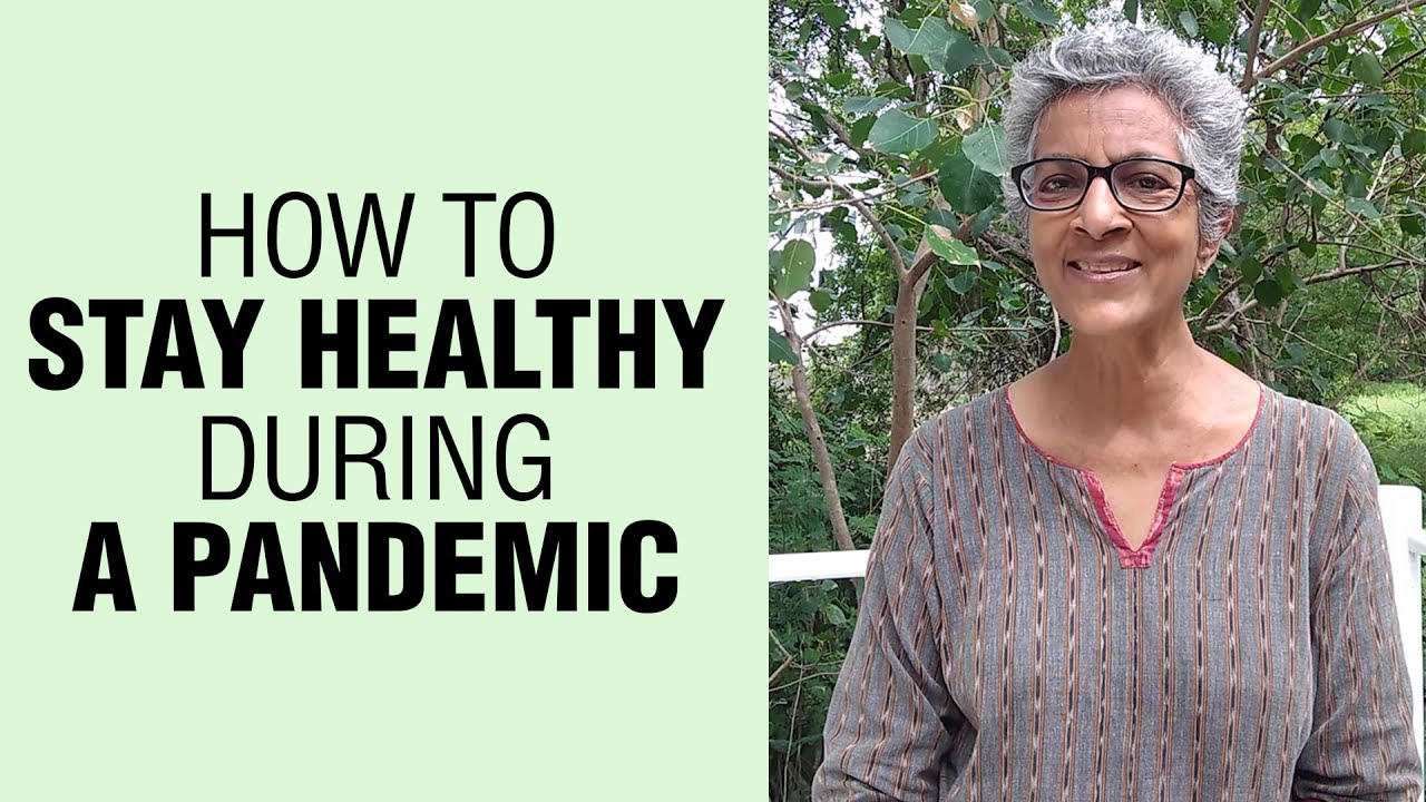 How to Stay Healthy During a Pandemic | Healthy Lifestyle | Healthy Living With SHARAN | Fit Tak