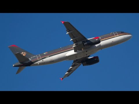 Royal Jordanian Airline Airbus A320-232 Flight RJ124 Munich to Amman JY-AYR