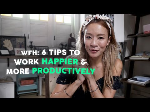 6 Ways to be More Productive & Happier | Work from Home | Jade Seah