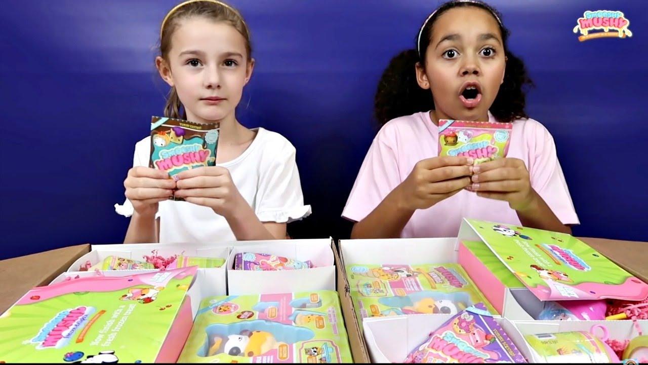 Squishy Mushy Toys R Us : Squishy Toys Challenge!! (Smooshy Mushy) Toys AndMe - YouTube