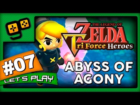 Let's Play: Zelda TriForce Heroes - Parte 7 - Abyss of Agony