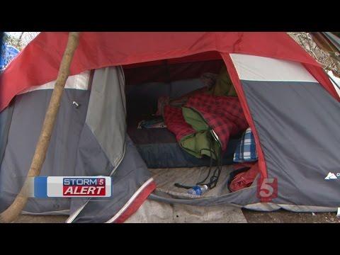 Nashville Homeless Face Harsh Winter Weather