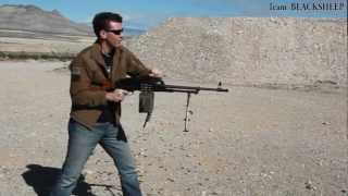 Shooting the PKM and AK