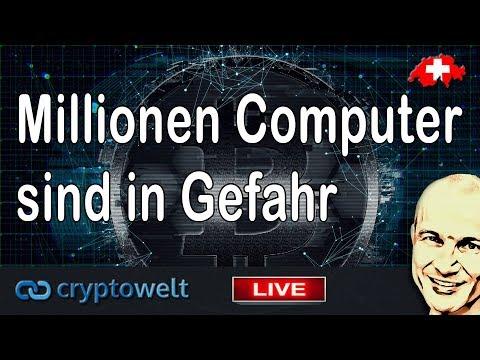 Millionen von Computer sind möglicherweise betroffen für einen Hack