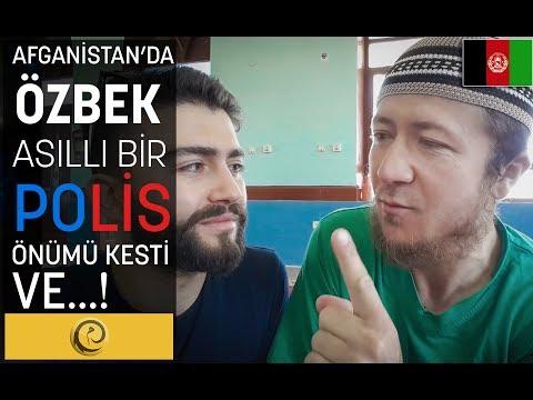 AFGANİSTAN'DA ÖZBEK BİR POLİS ÖNÜMÜ KESTİ VE...!