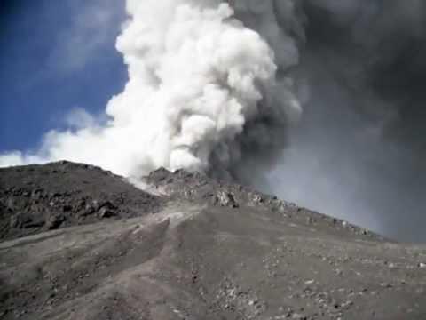 Merapi Volcano Eruption 2010