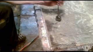 Ремонт радиатора автомобиля Toyota в Перми. Видео.(, 2016-08-06T08:19:10.000Z)