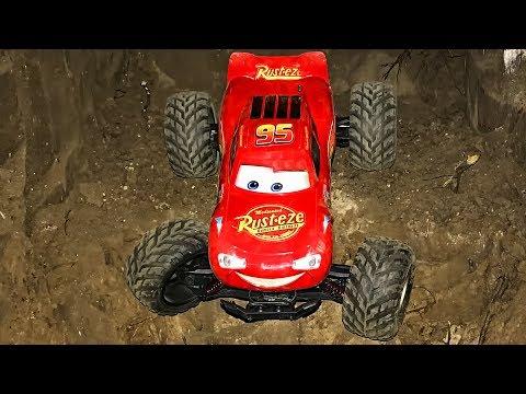 Cars Monster Truck Play Car toy videos for kids - Играем в тачки
