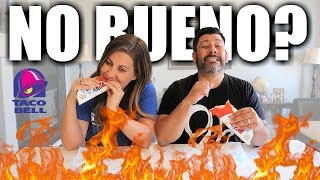 We tried the LEAST POPULAR ITEMS at TACO BELL | Taco Bell Fast Food Taste Test | Bueno or No Bueno?