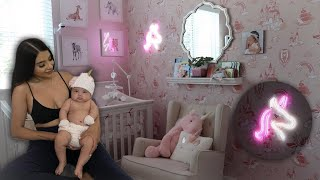 BABY GIRL UNICORN NURSERY! (INSANE!!)
