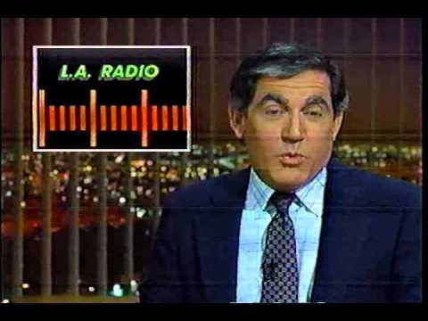 KHJ TV (Channel 9 News) - Los Angeles Radio - 1986